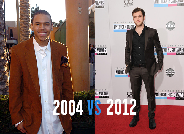 Red Carpet Evolutions: 2000 vs. 2012 | American Music Awards