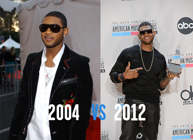Red Carpet Evolutions 2000 Vs 2012 American Music Awards