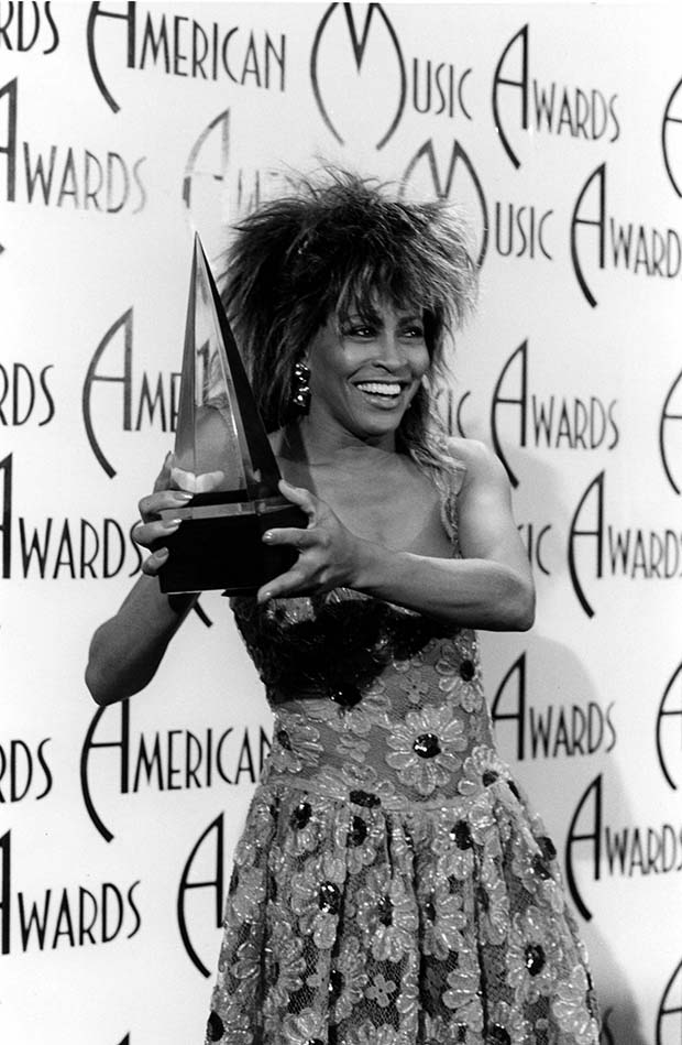 """Private Dancer"""" songstress, Tina Turner, turned heads at the AMAs ..."""