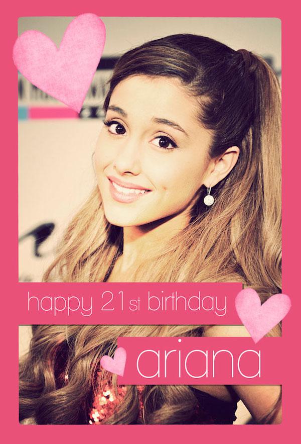 Enjoyable Ariana Grande Birthday Cards American Music Awards Personalised Birthday Cards Xaembasilily Jamesorg