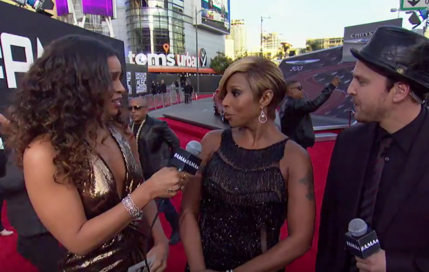 Red Carpet Interview: Mary J. Blige