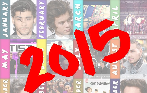 Ring In 2015 With This One Direction GIF Calendar