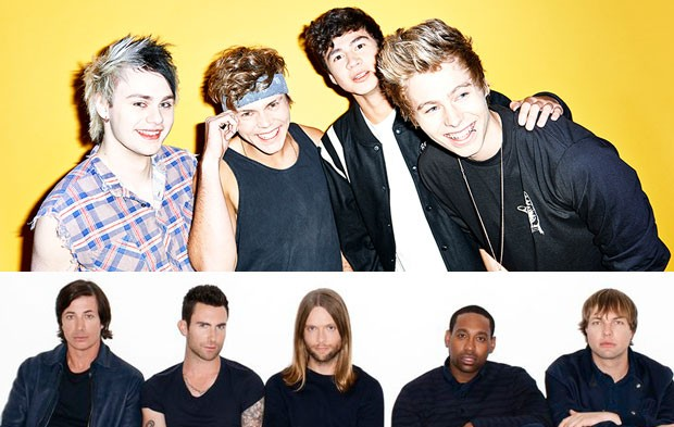 5SOS And Maroon 5 To Perform At PEOPLE Magazine Awards