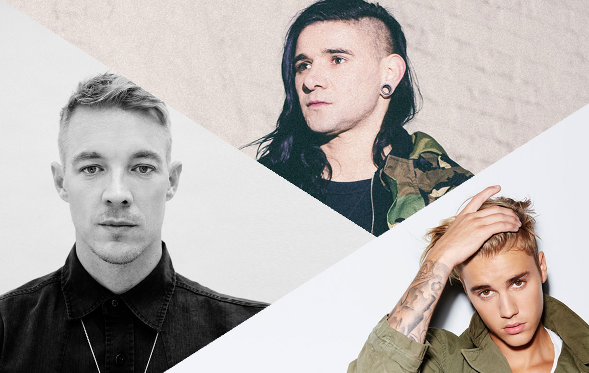 "Skrillex & Diplo Featuring Justin Bieber ""Where Are Ü Now"""