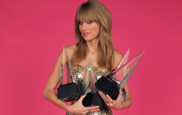 Who Has Won the Most AMAs In Each Category?