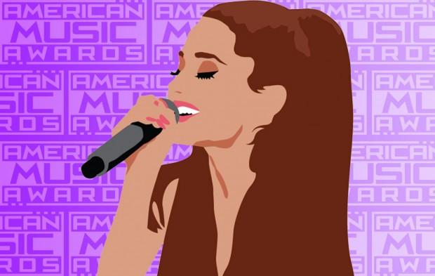 Ariana Grande's AMAs Rehearsal Was Next Level