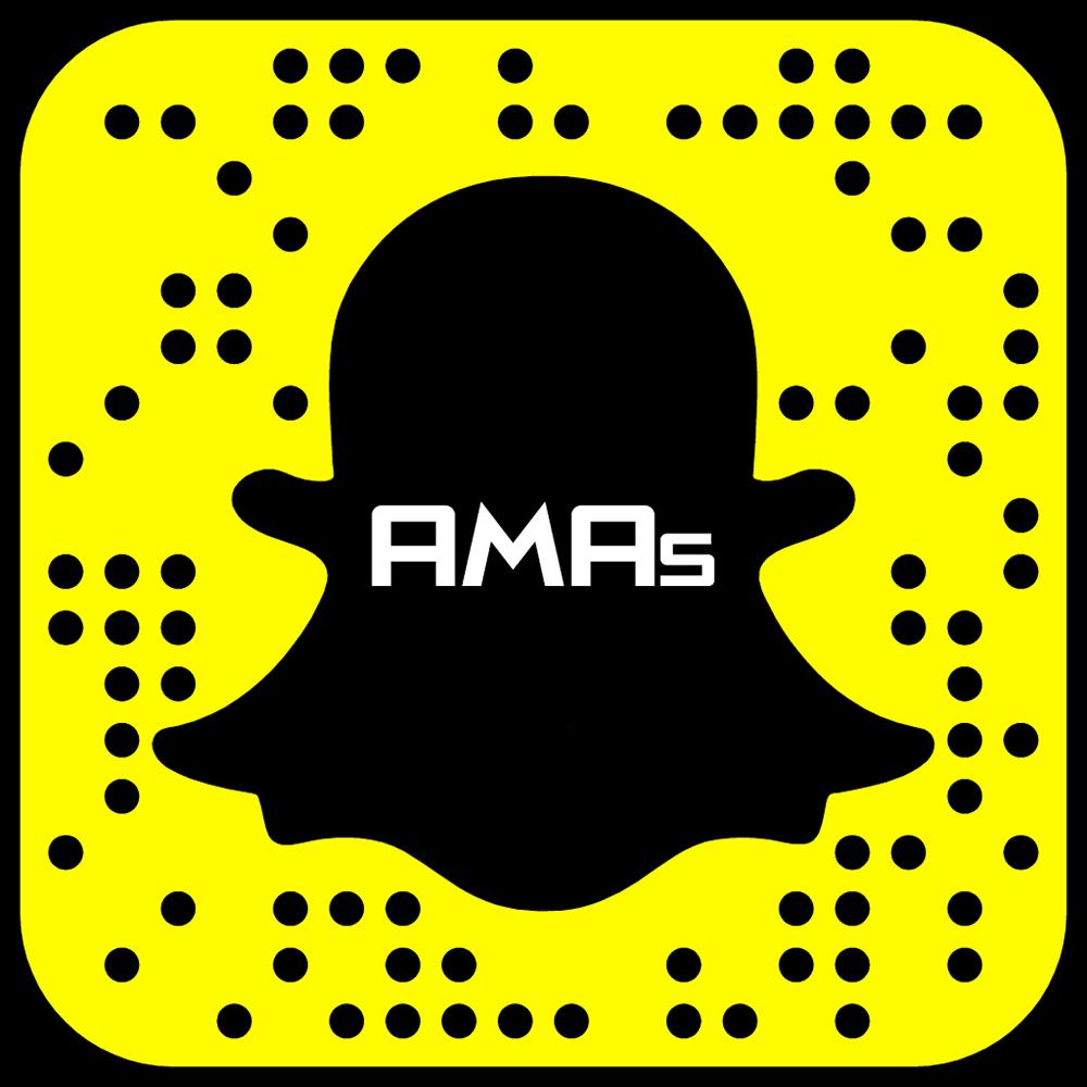 2016 AMAs Nominees Snapchat Code