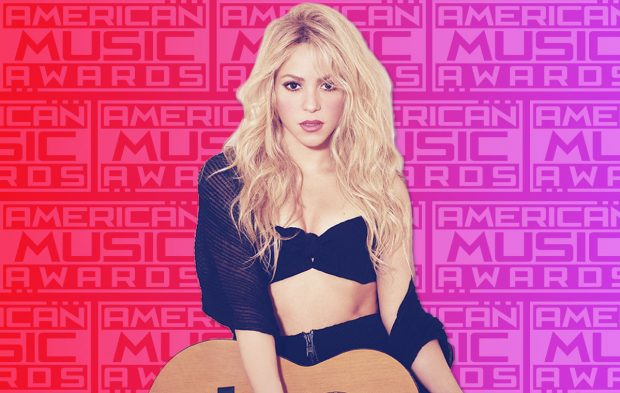 Shakira Returns to the AMAs Stage in 2016