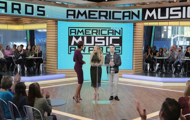 Behind-the-Scenes of the 2016 AMAs Nominations Announcement