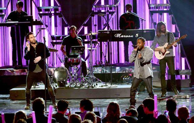 Maroon 5 and Kendrick Lamar Close Out the AMAs With a Bang