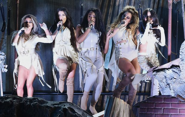 "Fifth Harmony Brings ""That's My Girl"" Video to Life at AMAs"