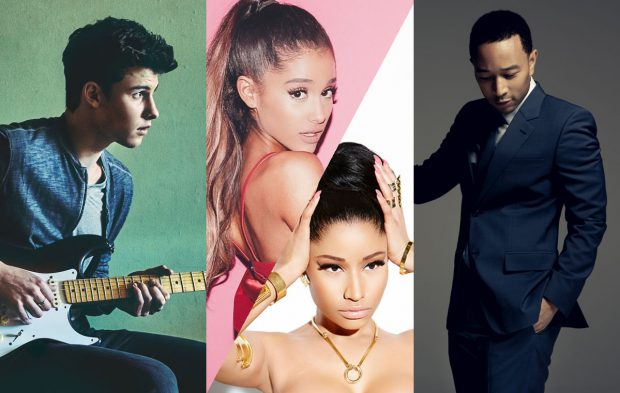 John Legend, Shawn Mendes & Ariana Grande ft. Nicki Minaj to Perform