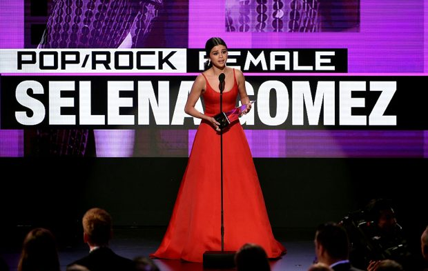 Selena Gomez & More Give Emotional AMAs Acceptance Speeches