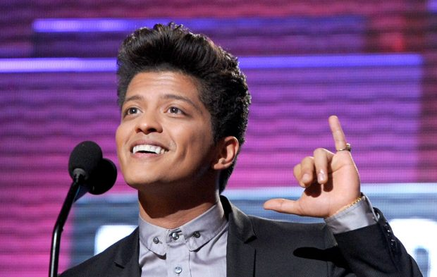 Pop! Pop! It's Show Time: Bruno Mars' AMAs Timeline