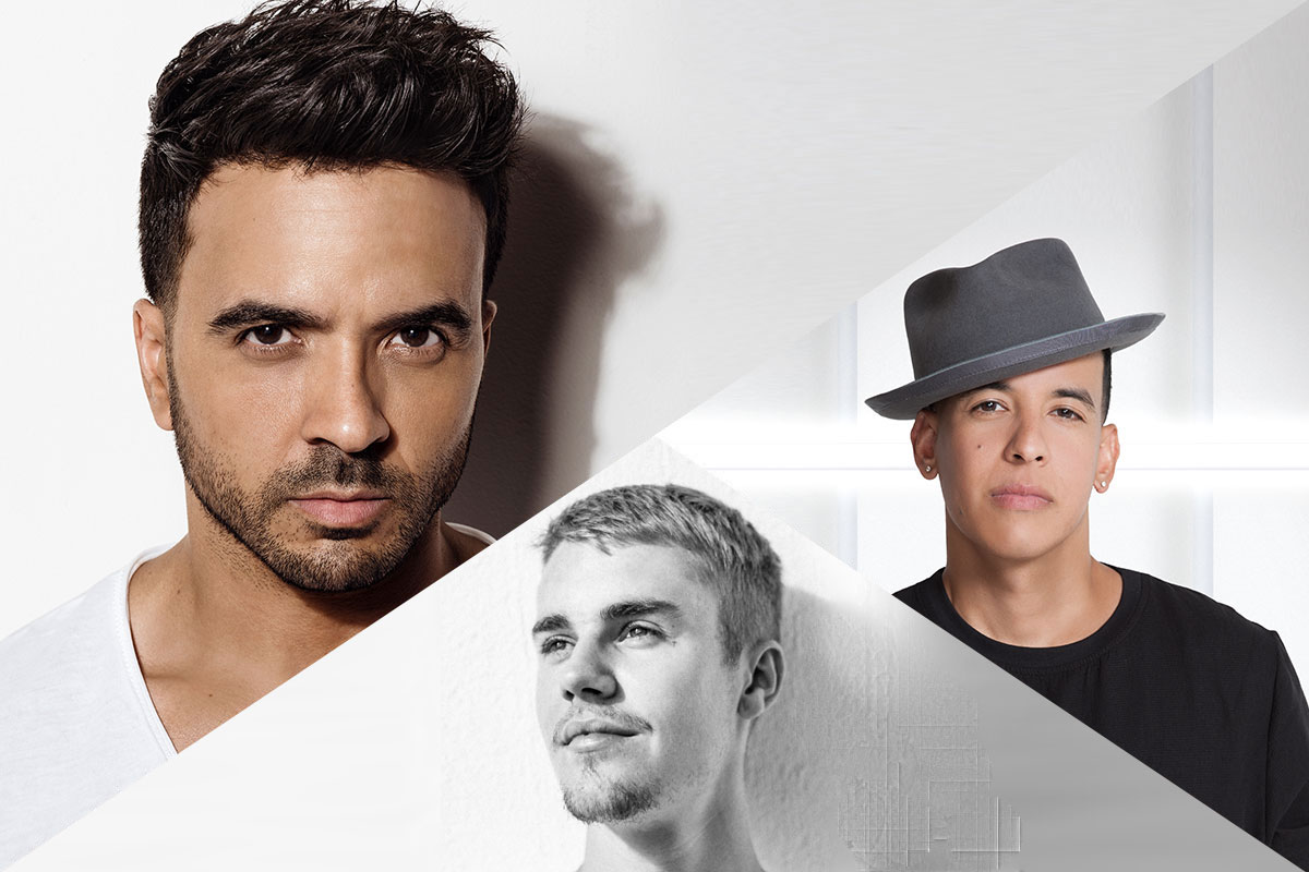 "Luis Fonsi and Daddy Yankee featuring Justin Bieber ""Despacito"""
