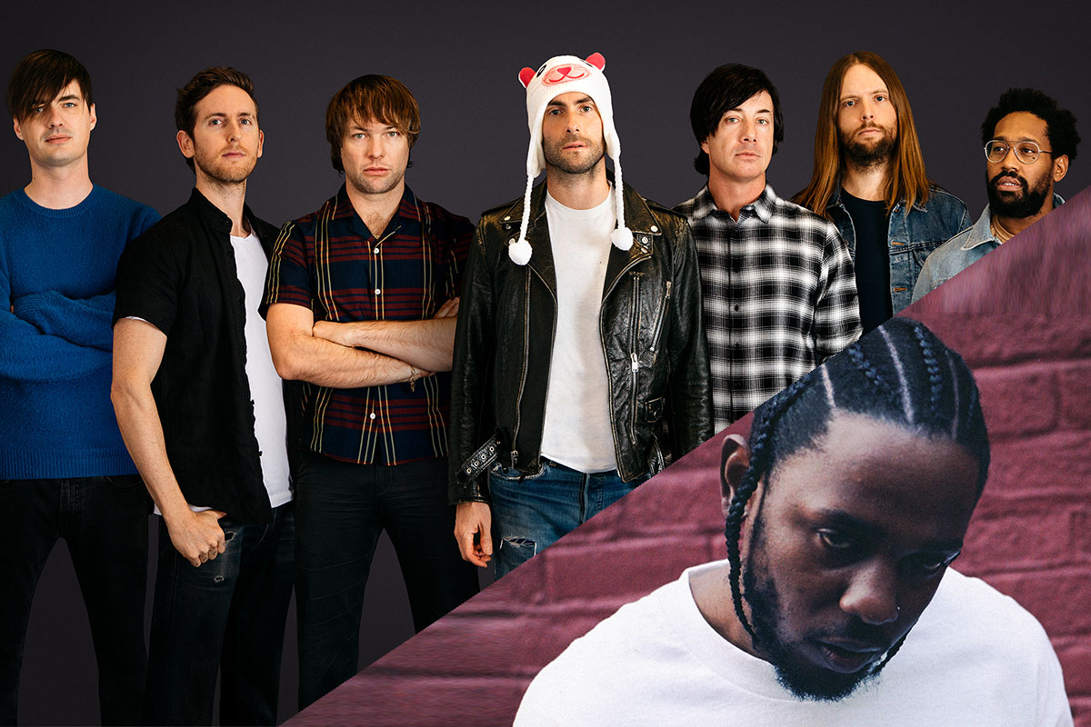 "Maroon 5 featuring Kendrick Lamar ""Don't Wanna Know"""