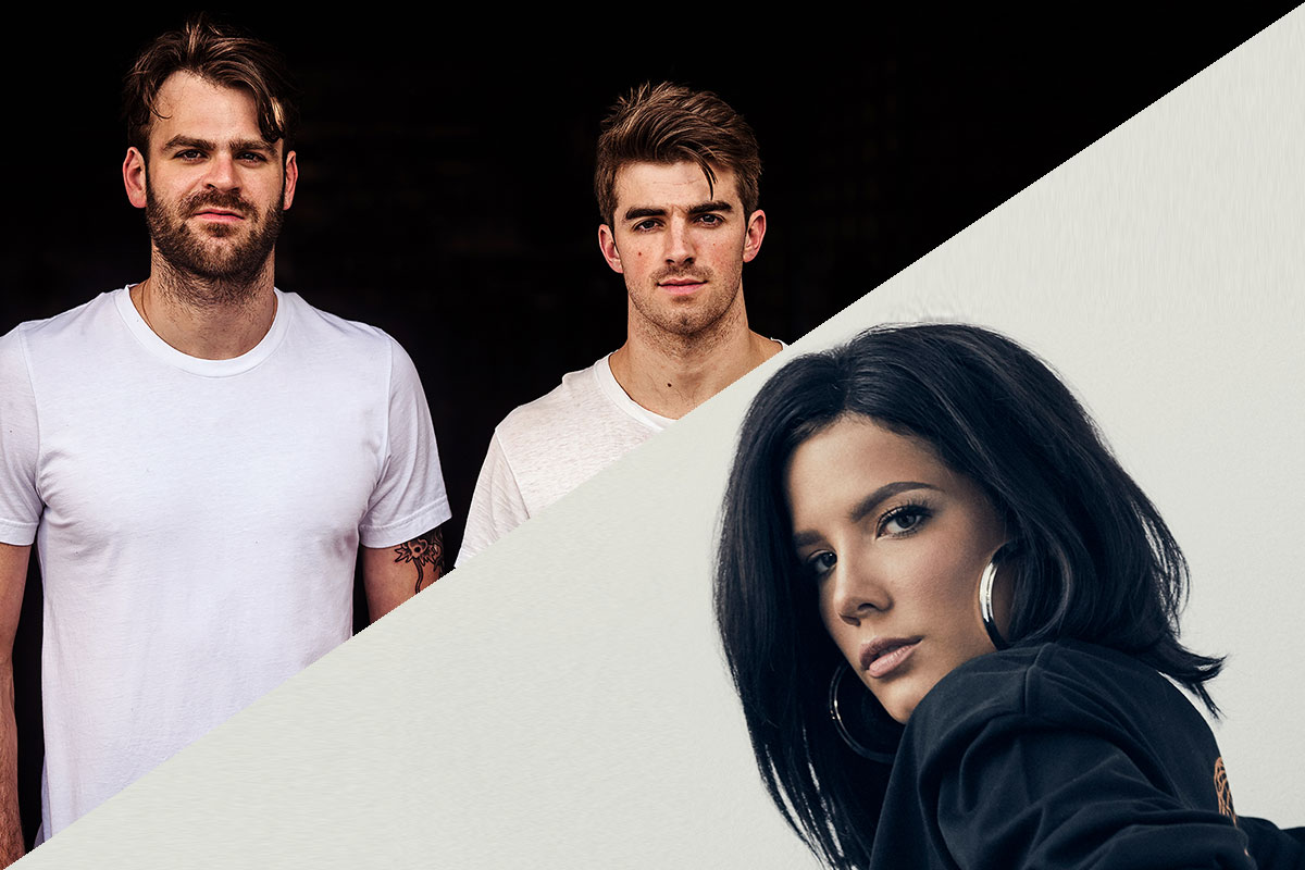 "The Chainsmokers featuring Halsey ""Closer"""