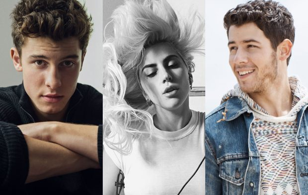 Shawn Mendes, Nick Jonas and Lady Gaga to Perform