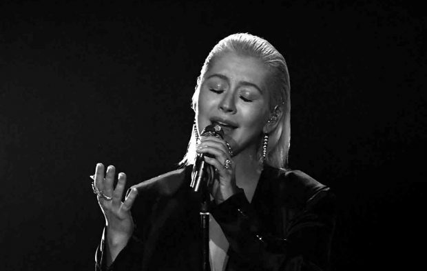 Christina Aguilera Takes on Whitney Houston Flawlessly