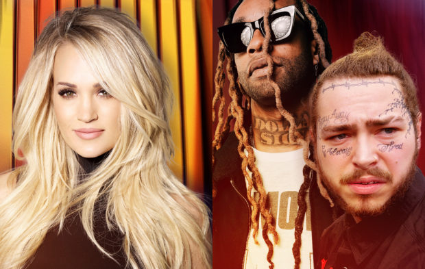 Carrie Underwood and Post Malone to Perform