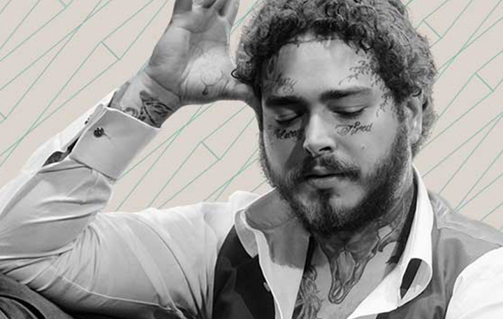 "Post Malone ""Hollywood's Bleeding"""